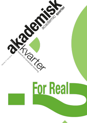 New issue of Academic Quarter: For Real?