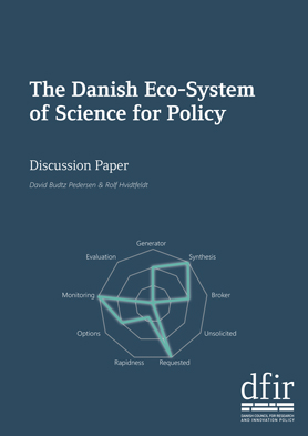 Cover The Danish Eco-System of Science for Policy